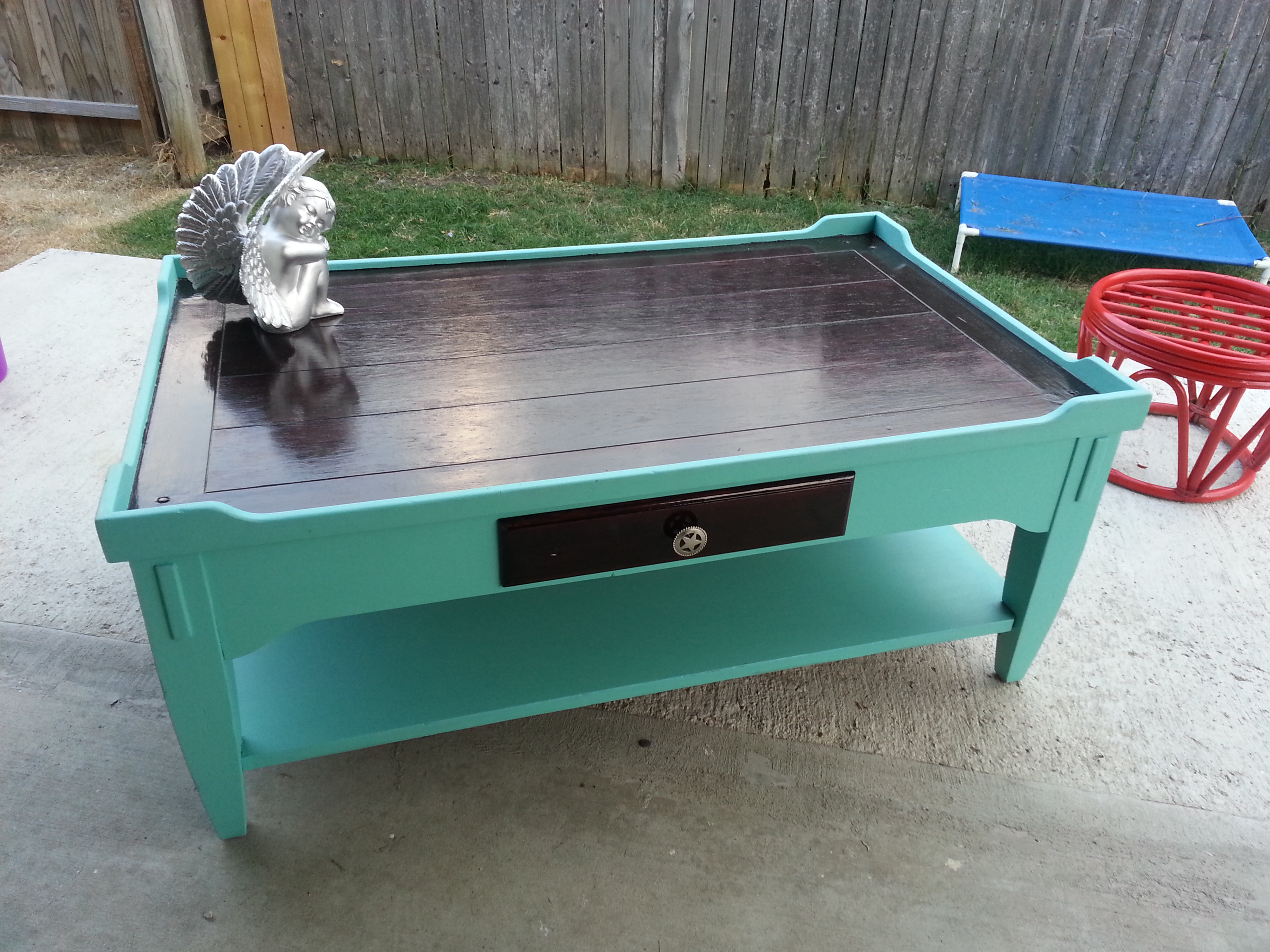 turquoise rustic coffee table fifty shades of new furniture